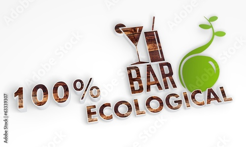 sustainable bar symbol