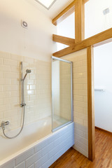 Stylish bath in new house