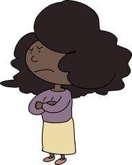 Angry Woman Cartoon