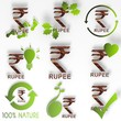 eco India Rupee symbol set