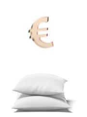 Saving euro concept