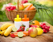 Fresh, natural vitamins from fruits and vegetables