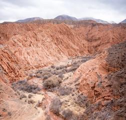 Beautiful sandy canyon