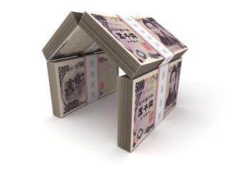 Real Estate Concept Japanese Yen