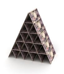 Japanese Yen Pyramid