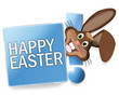 canvas print picture - Happy Easter Bunny