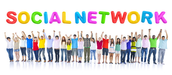 Large Group of Student Communication
