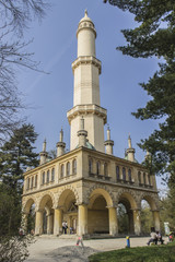 Minaret in Lednice - Czech Republic
