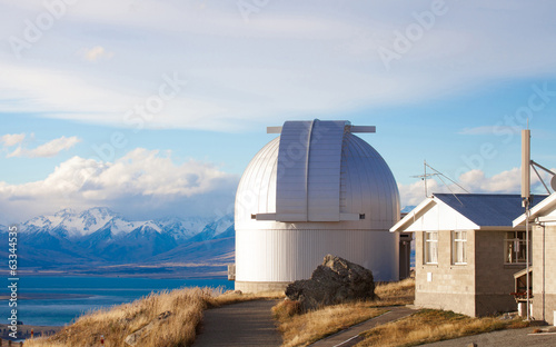 Mount John's Observatory at Mt John, Tekapo, New Zealand