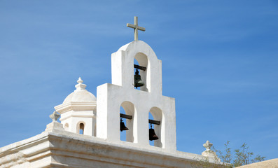 Bells at San Xavier del Bac Mission, Arizona
