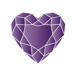 amethyst - vector gemstone illustration