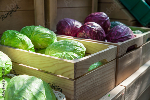 vegetable in box