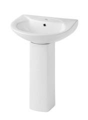 Beautiful design of the washbasin isolated
