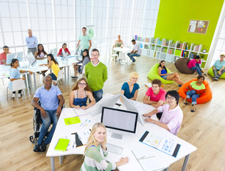 Group of Student in the Classroom