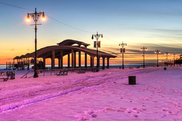 Brighton Beach, NY, Wintertime