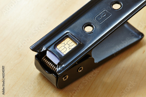 sim card and cutter
