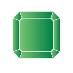 Peridot - vector illustration