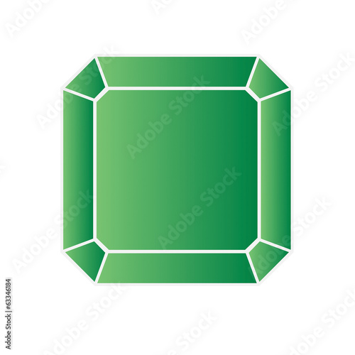 Peridot - vector illustration