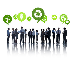 Business People Environmental Conservation