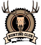 hunting club design poster