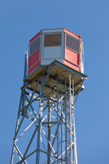 Watch tower steel forest fire lookout structure