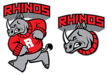 rhino mascot