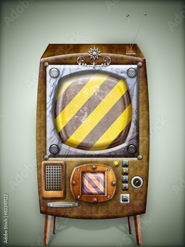 Vintage and steampunk television - series
