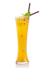 passionfruit mocktail