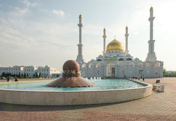 Nur Astana Mosque in Astana, Kazakhstan