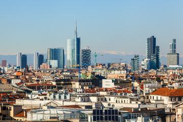 Skylien von Mailand