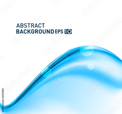 abstract blue business creative stylish wave vector whit backgro