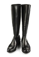 Black female boots