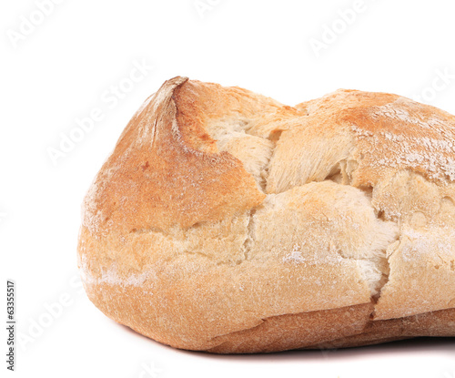 Delicious white bread.