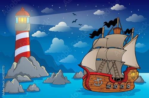 Pirate ship theme image 6