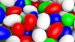 Background with many colorful eggs