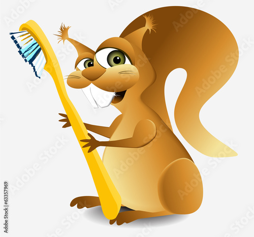 Dental squirrel