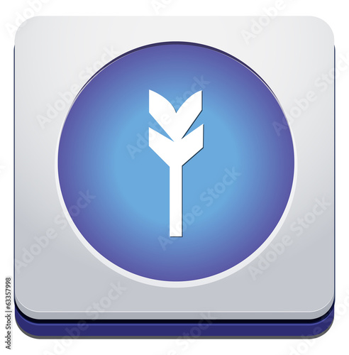 Target aim sign icon