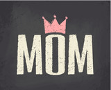 Fototapety Mother's Day Greeting Card
