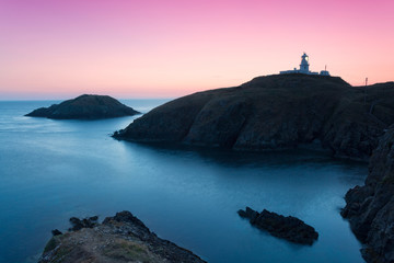 Pembrokeshire Coast, colorful landscape