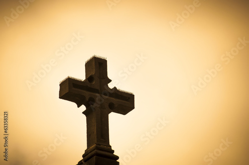 Christian cross signifying sacrifice