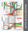 Kid's School Tri-Fold Mock up & Brochure Design