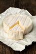 brie cheese closeup