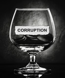 corruption poster