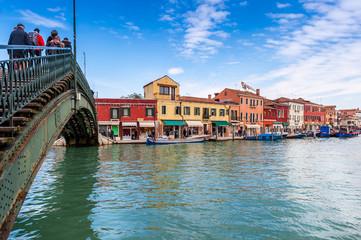 Canal à Murano, Venise