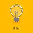 Vector idea concept -