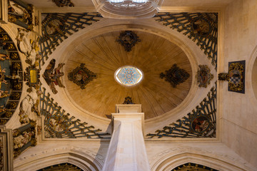 Burgos Cathedral, the ceiling in a chapel
