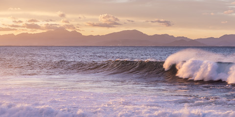 Waves in Mallorca