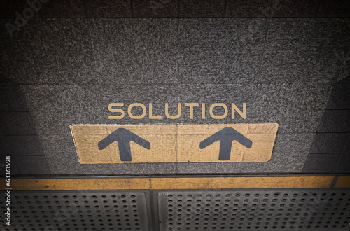 Direction to solution