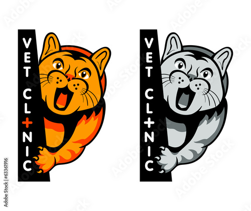 Veterinary clinic symbol