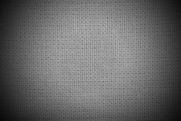 Natural linen dark material  background